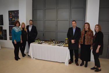 """Παρουσίαση Επιτραπέζιας Ελιάς στα Πλαίσια του Διεθνούς Διαγωνισμού """"Athena International Olive Oil Competition"""" στους Δελφούς"""